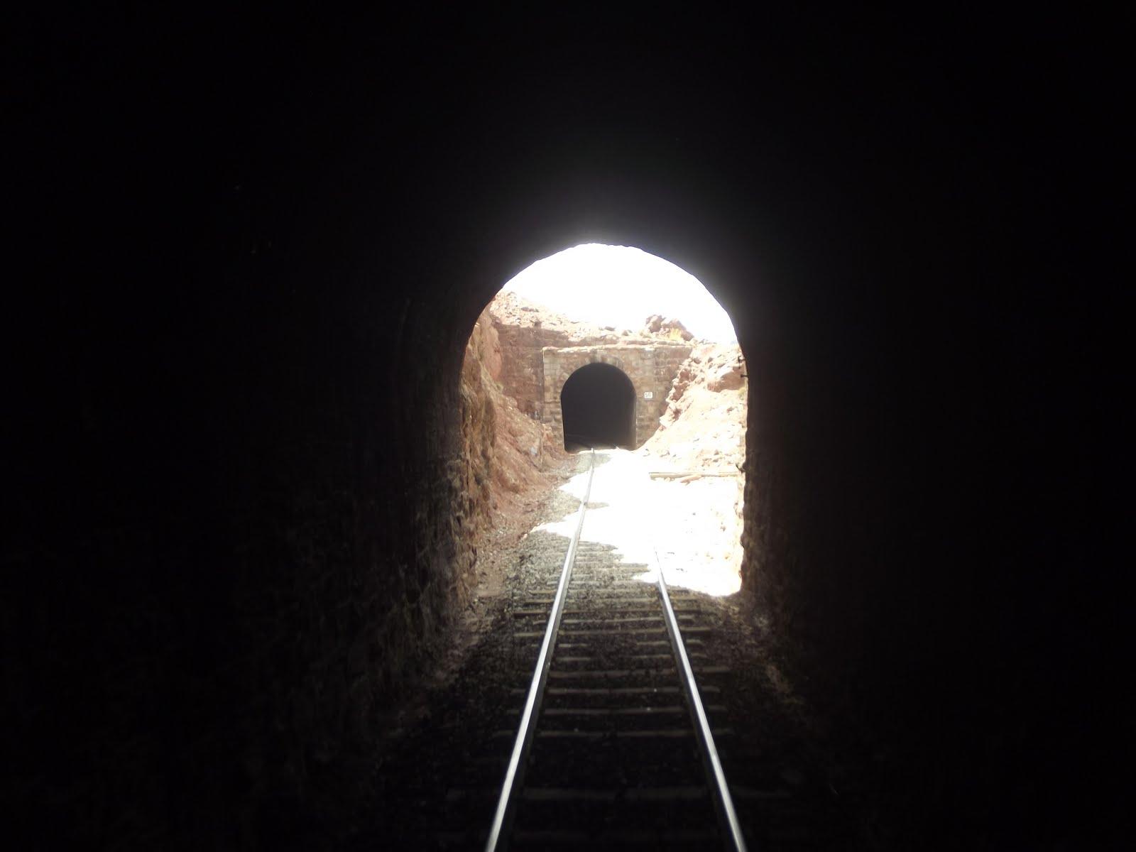 Los tuneles del FCCA.