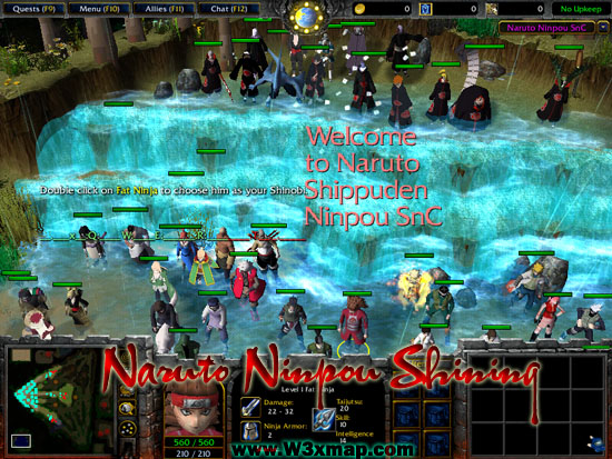 Warcraft iii naruto ninpou clan known as mn, were a top ninja society with strength, naruto shippuden