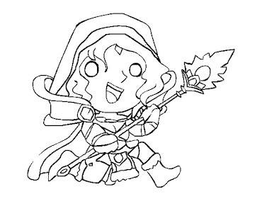 #15 Dota 2 Coloring Page