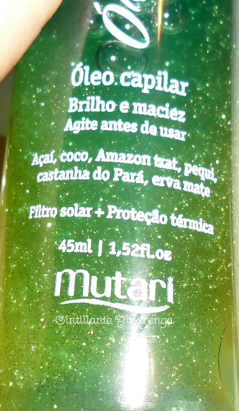 Óleos do Brasil-Mutari