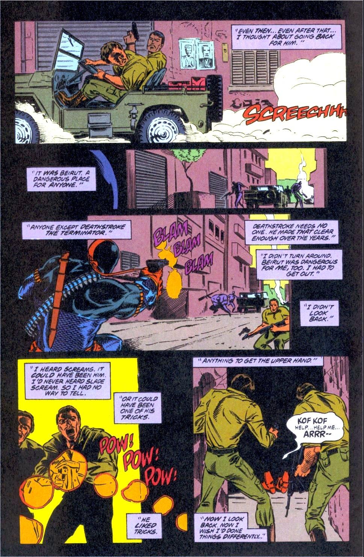 Deathstroke (1991) Issue #12 #17 - English 8