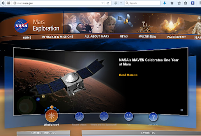 Air Telah ditemukan di Planet Mars
