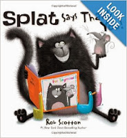 http://www.amazon.com/Splat-Says-Thank-You-Cat/dp/0061978744/ref=sr_1_1?s=books&ie=UTF8&qid=1384001326&sr=1-1&keywords=splat+says+thank+you+by+rob+scotton