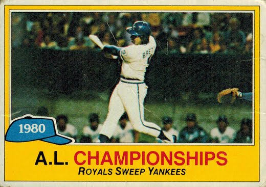1981 Topps ALCS Card