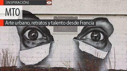 Arte urbano, retratos y talento de MTO.