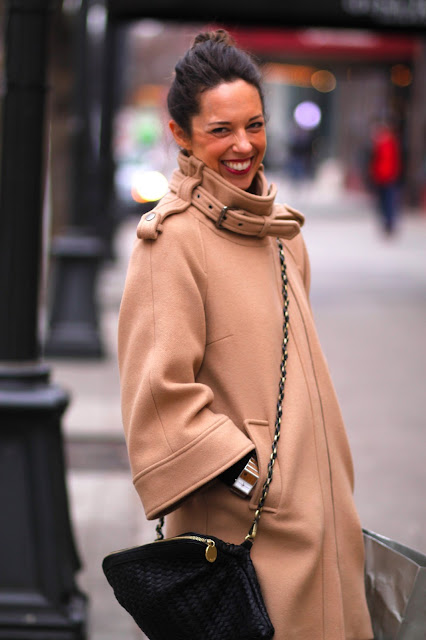 Sarah Miller Camel Coat Seattle Street Style fashion it's my darlin'