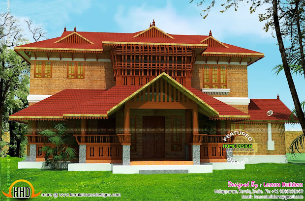 Kerala Traditional Home Design - And