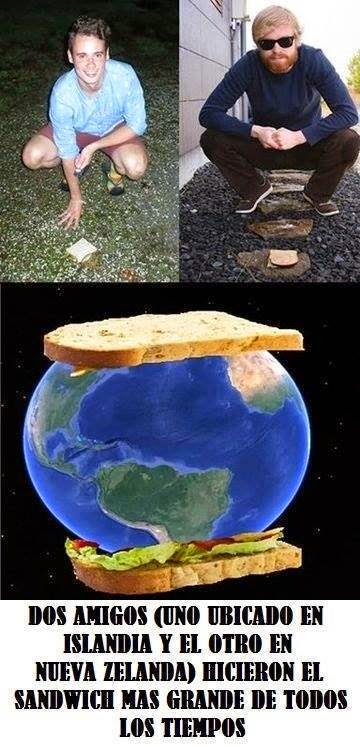 sandwich sanduche mas grande del mundo