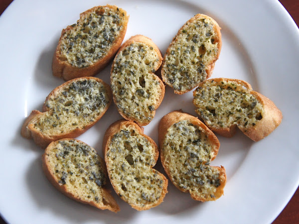 REZEPT: glutenfreies Kräuterbaguette