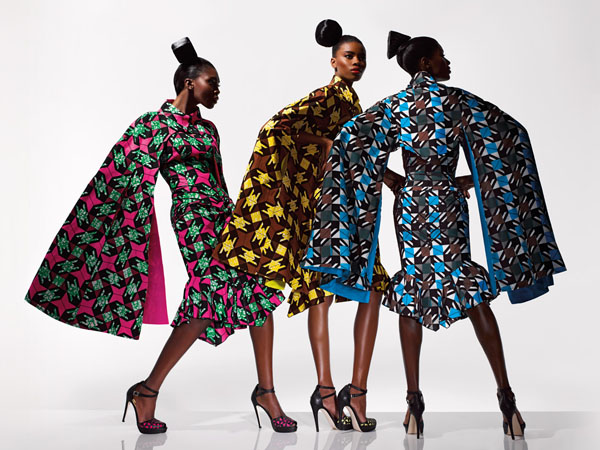 Vlisco New Collection Dazzling Graphics Ciaafrique African Fashion Beauty Style