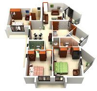 3d Floor Plans3
