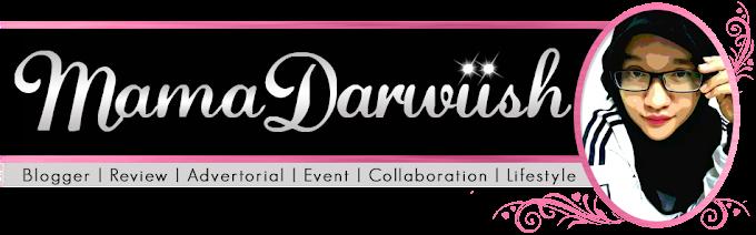 Tempahan Design Header Blog Mama Darwiish