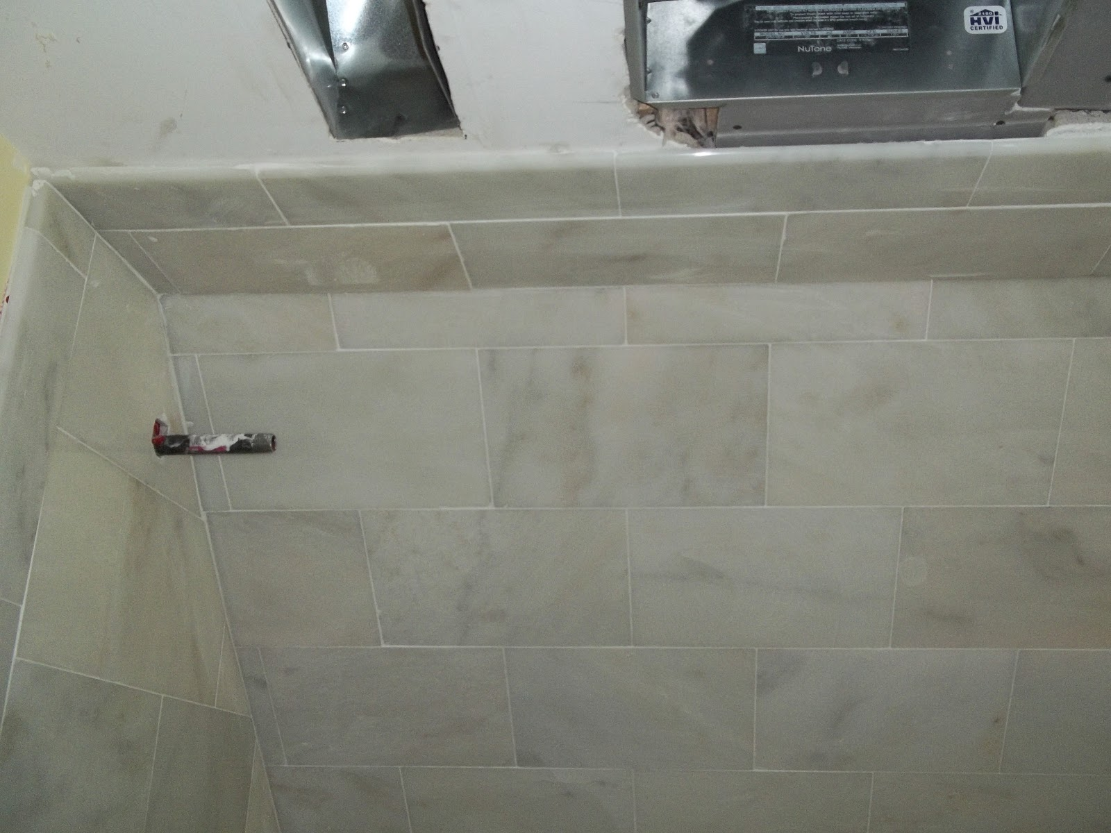 Rip out a tub and walk in a shower ask tile excellence finished marble tile shower ceiling installed dailygadgetfo Choice Image