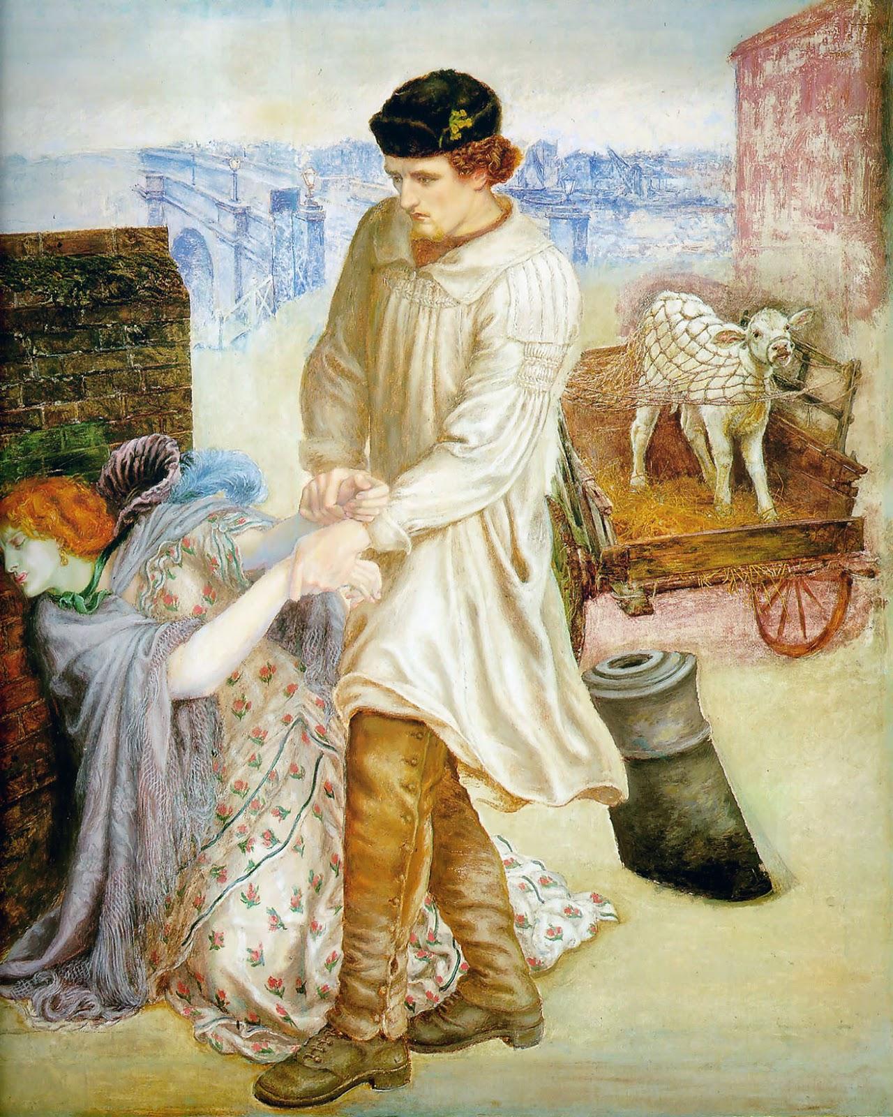 Dante Gabriel Rossetti - Fanny Cornforth - Found - Delaware