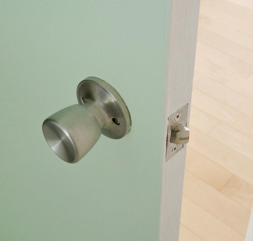 Silver Door Knob