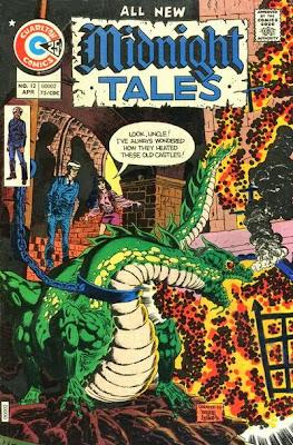 Midnight Tales #12, Arachne and Professor Coffin, Charlton Comics