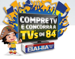 """""""Promoção TV Tela Grande é na Casas Bahia"""""""