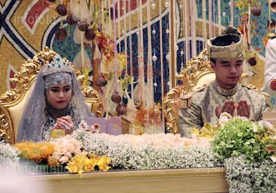 Majlis Persantapan Diraja Sempena Istiadat Perkahwinan Diraja YTM