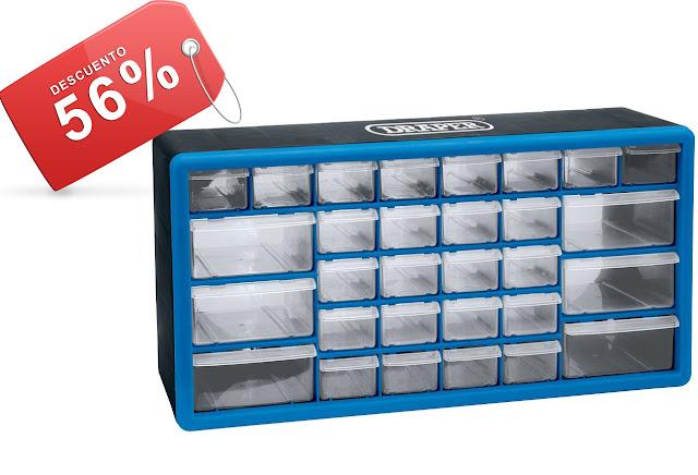 Chollo draper caja organizadora para herramientas por 21 - Cajas para guardar herramientas ...