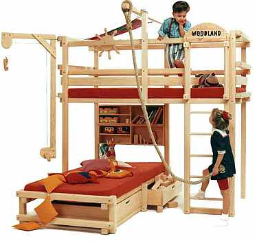 Bunk Beds For Kids: Precautions For Children And Types Of Bunk Beds