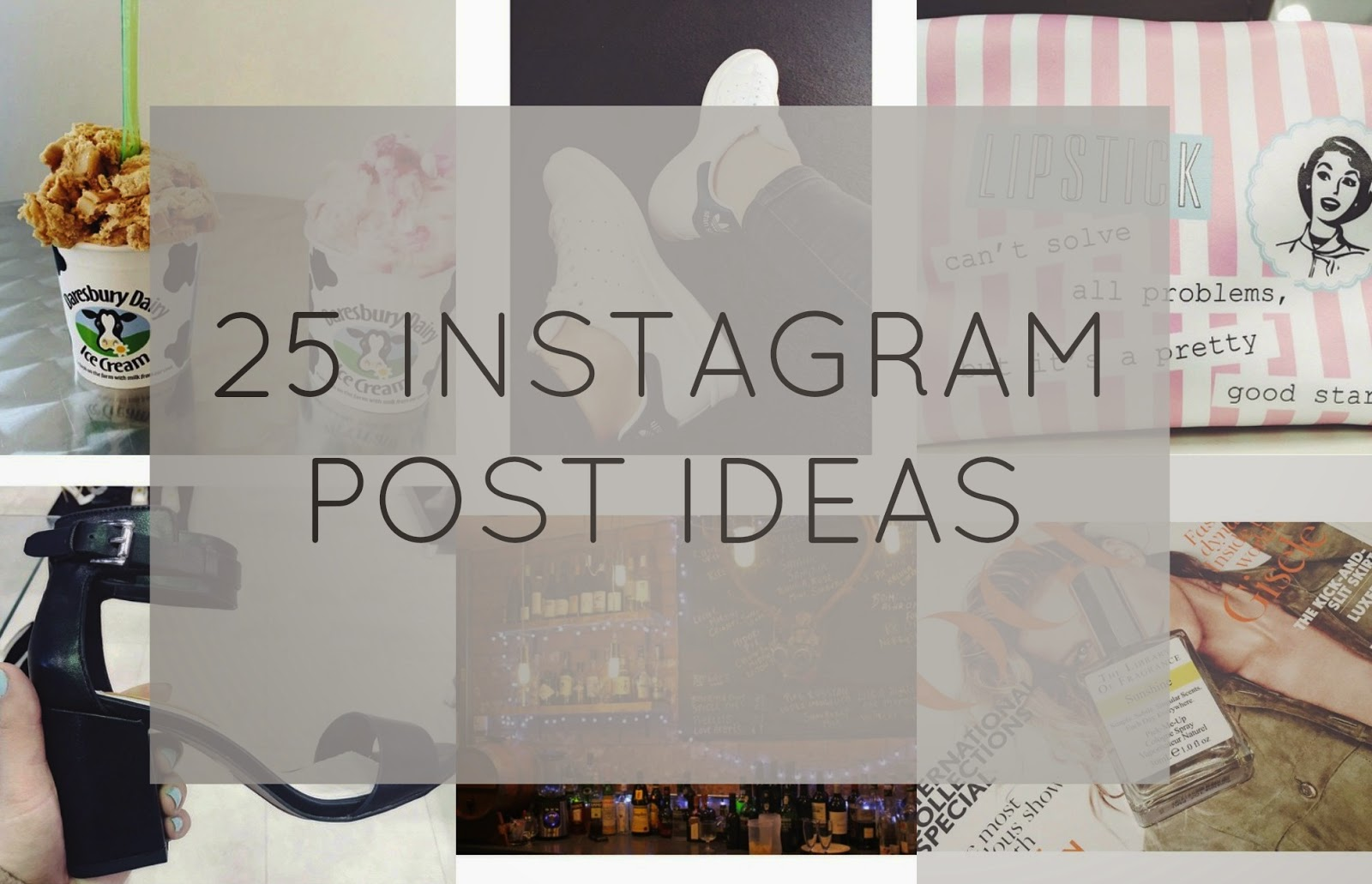 25 instagram post ideas hellotasha for Photo comment ideas