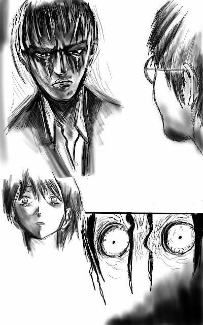 paint note manga trsite horreur