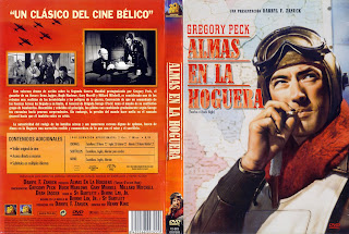 Carátula: Almas en la hoguera (1949) Twelve O'Clock High