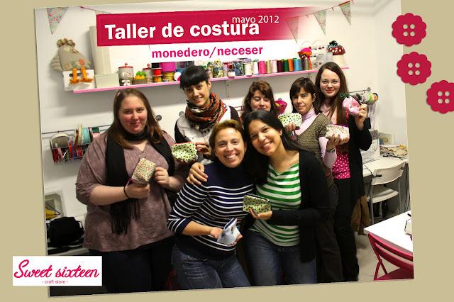 Taller de costura para principiantes en Sweet Sixteen, Madrid