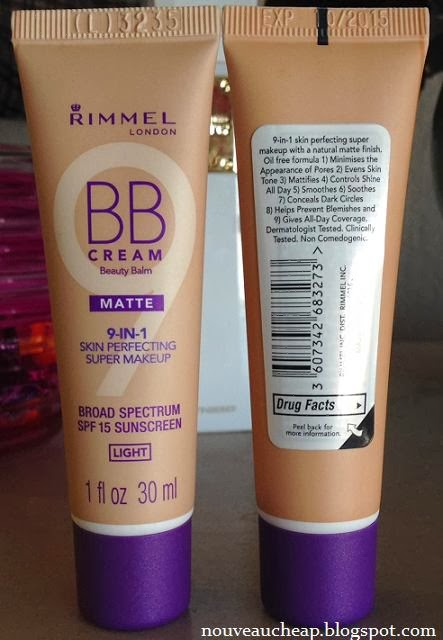 spotted swatched new rimmel bb cream matte spf15. Black Bedroom Furniture Sets. Home Design Ideas