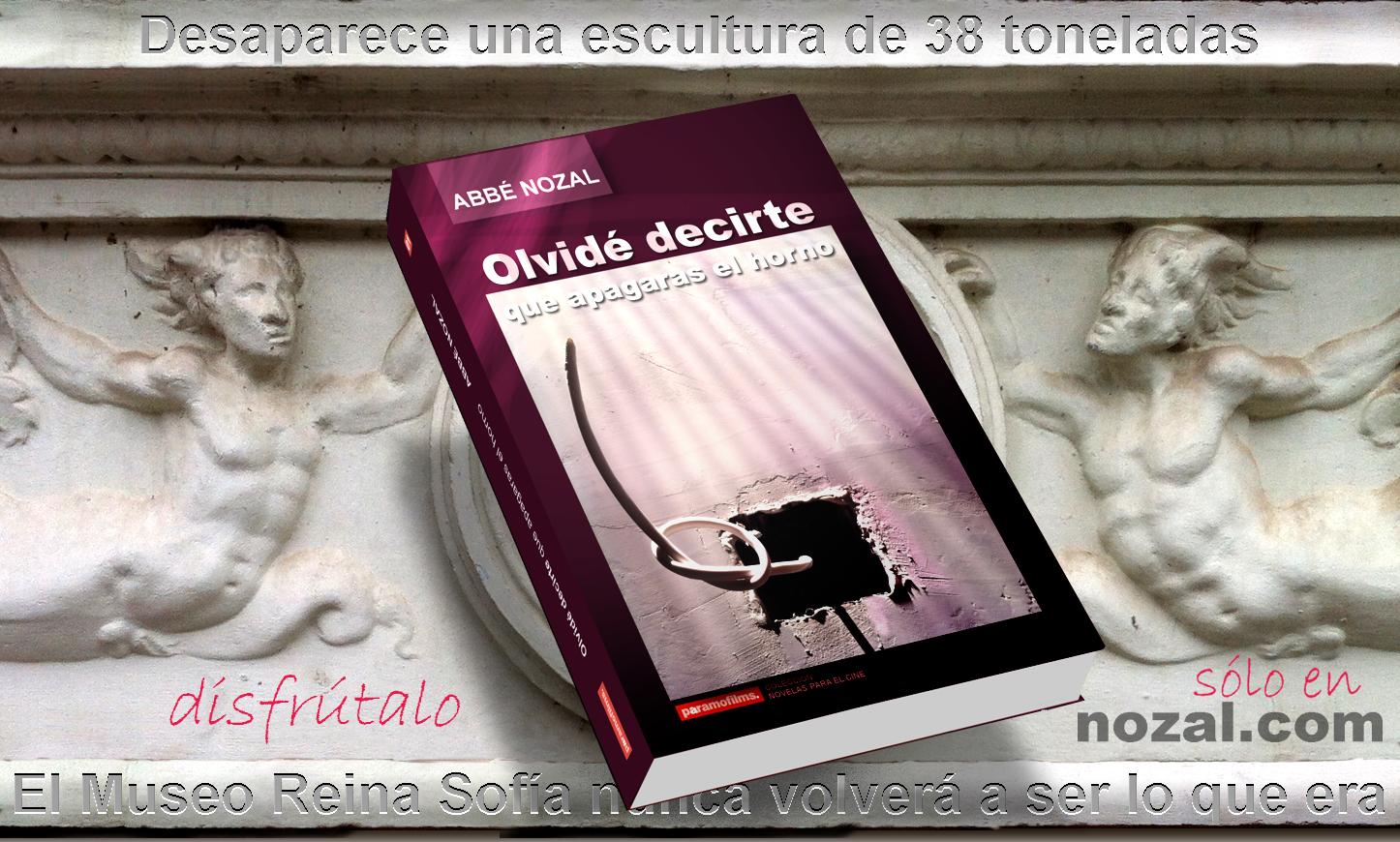 Bajorrelieve y novela, 2014 Abbé Nozal