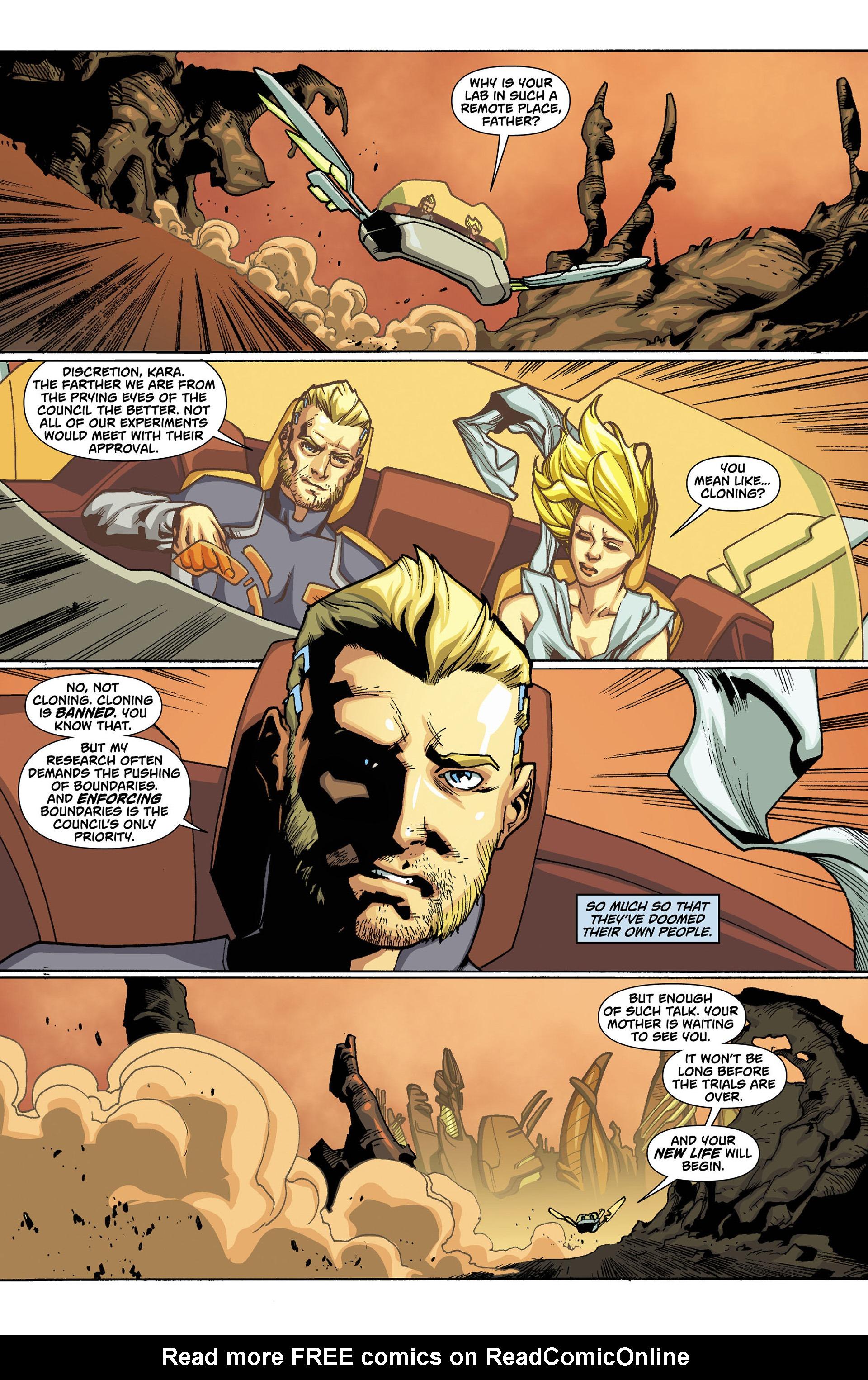 Supergirl (2011) Issue #0 #2 - English 4