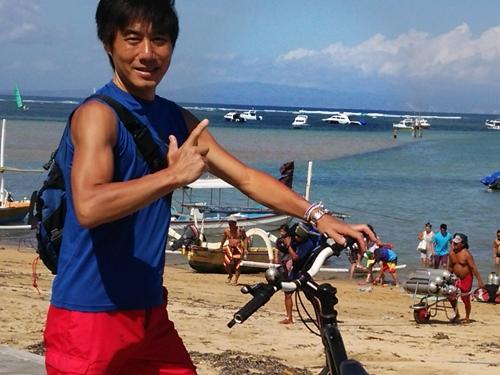 レンタル自転車☆Explore Sanur by Rental Bicycle