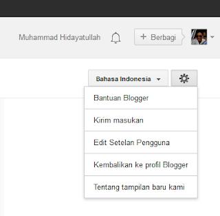 Cara Memberi Kritik atau Saran (Send Feedback) Ke Blogger