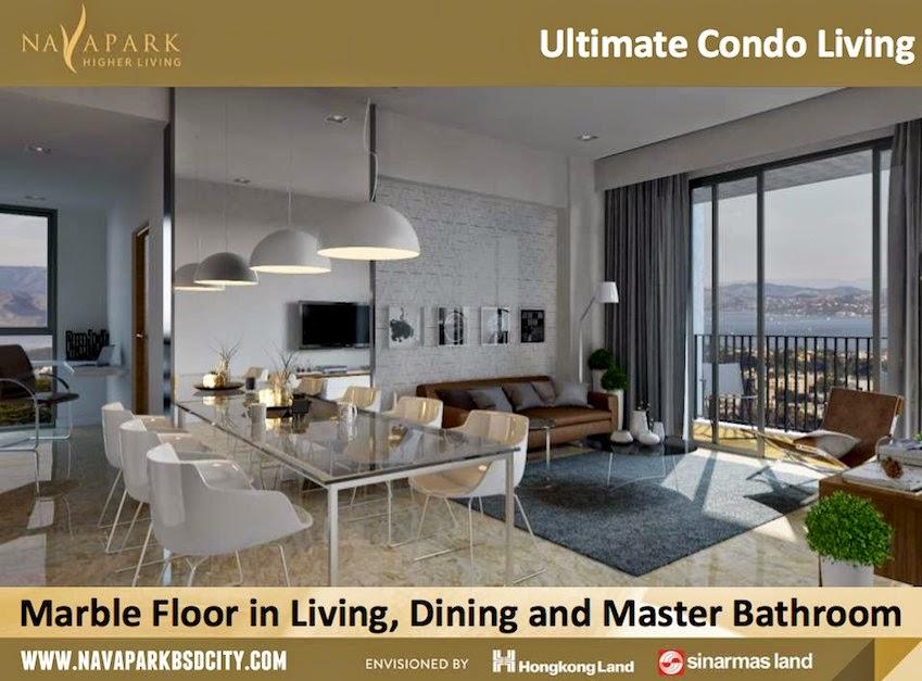 Interior Design Marigold NavaPark Apartment BSD