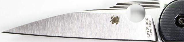 Spyderco Des Horn EDC Pocket Knife - Blade 2