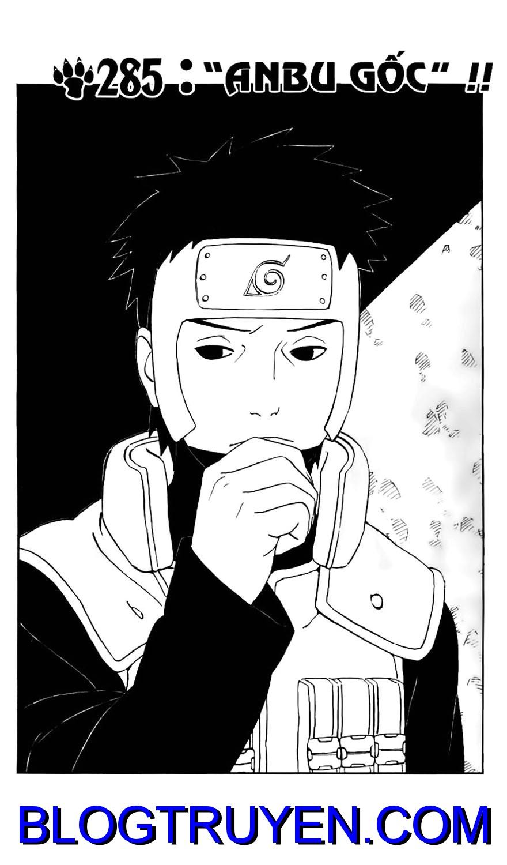 Naruto chap 285 Trang 5 - Mangak.info