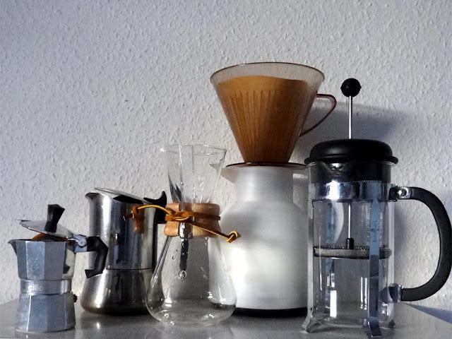 Kaffeegeräte einer Teetrinkerin | pastasciutta.de