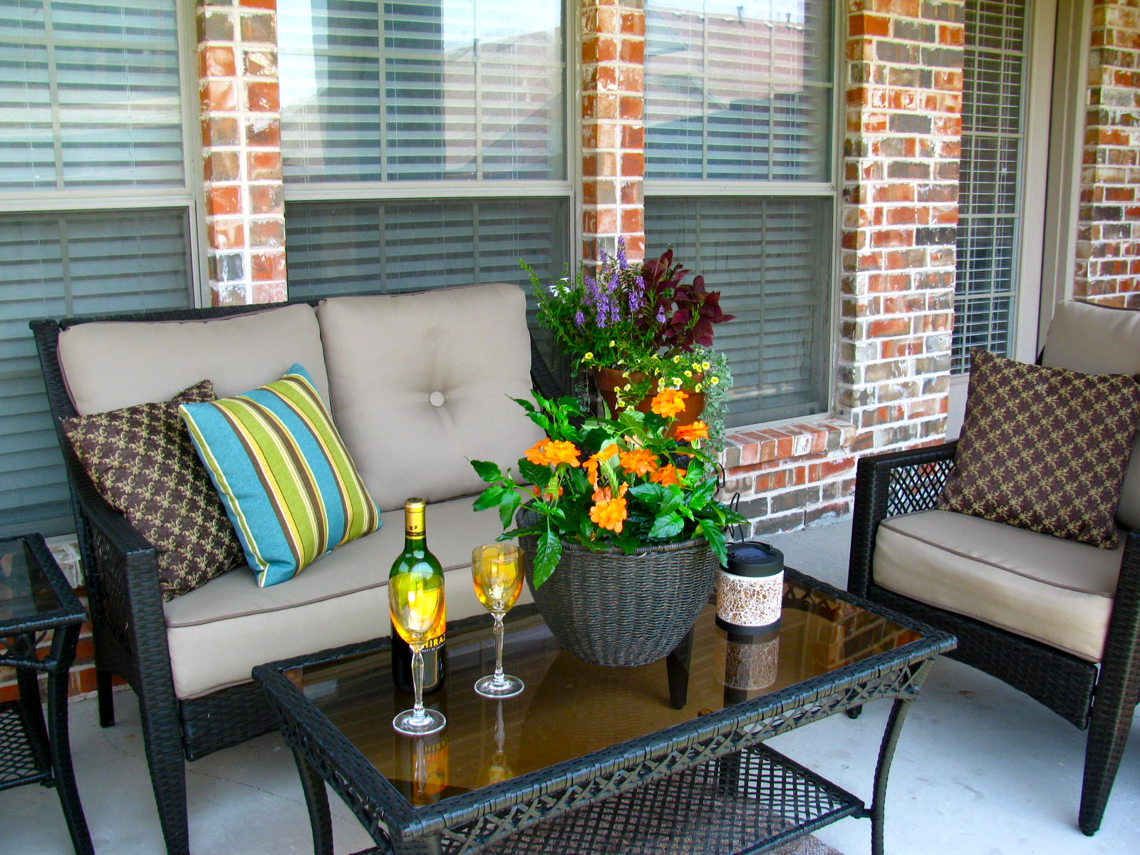 May days a small patio makeover - Outdoor furniture design ideas ...