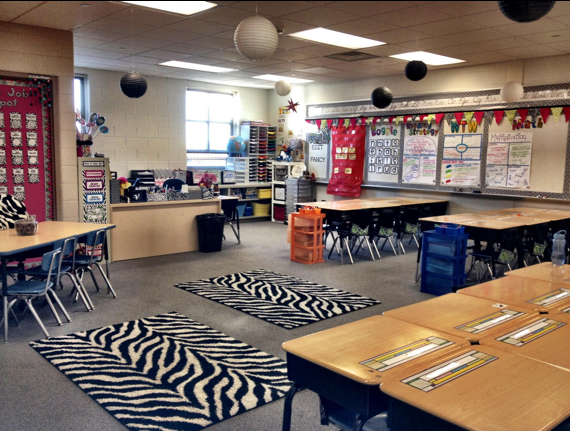 Zebra Classroom Ideas ~ Source