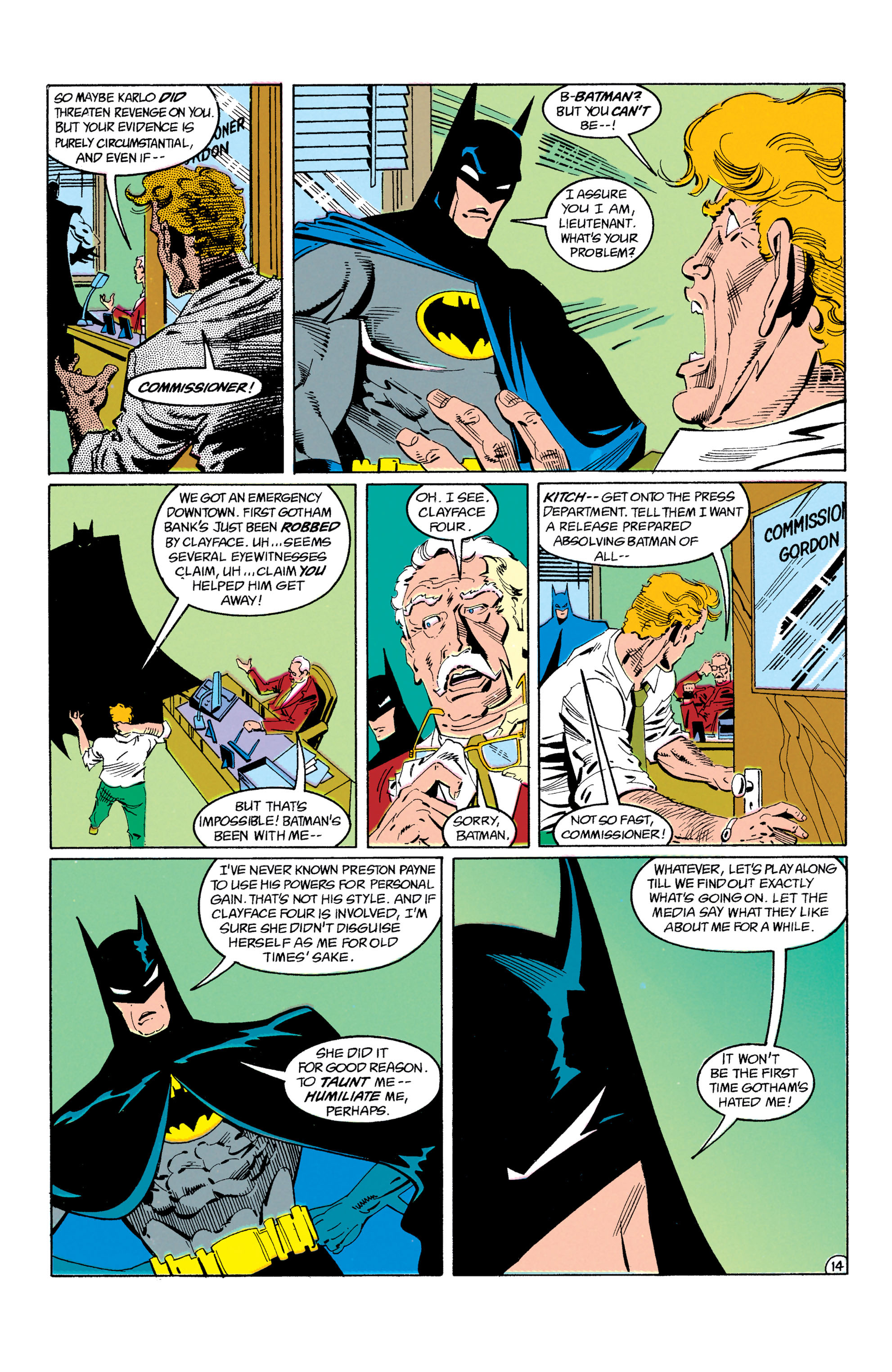 Detective Comics (1937) Issue #605 Page 15