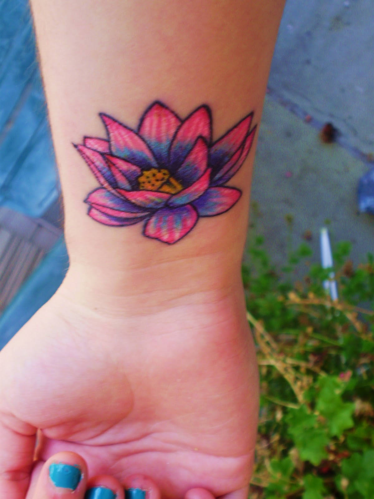 Tattoos Login Lotus Flower Tattoo