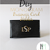 DIY Monogram Business Card Holder ... Guest Post by Stephanie of Newly Mynted