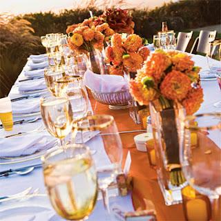 aranjament masa nunta toamna