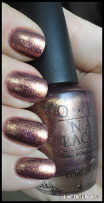 OPI rally pretty pink serena williams glam slam collection