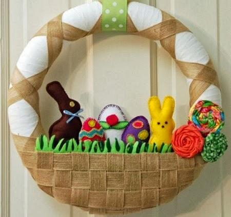 Coronas de Pascua, Ideas de Fiesta