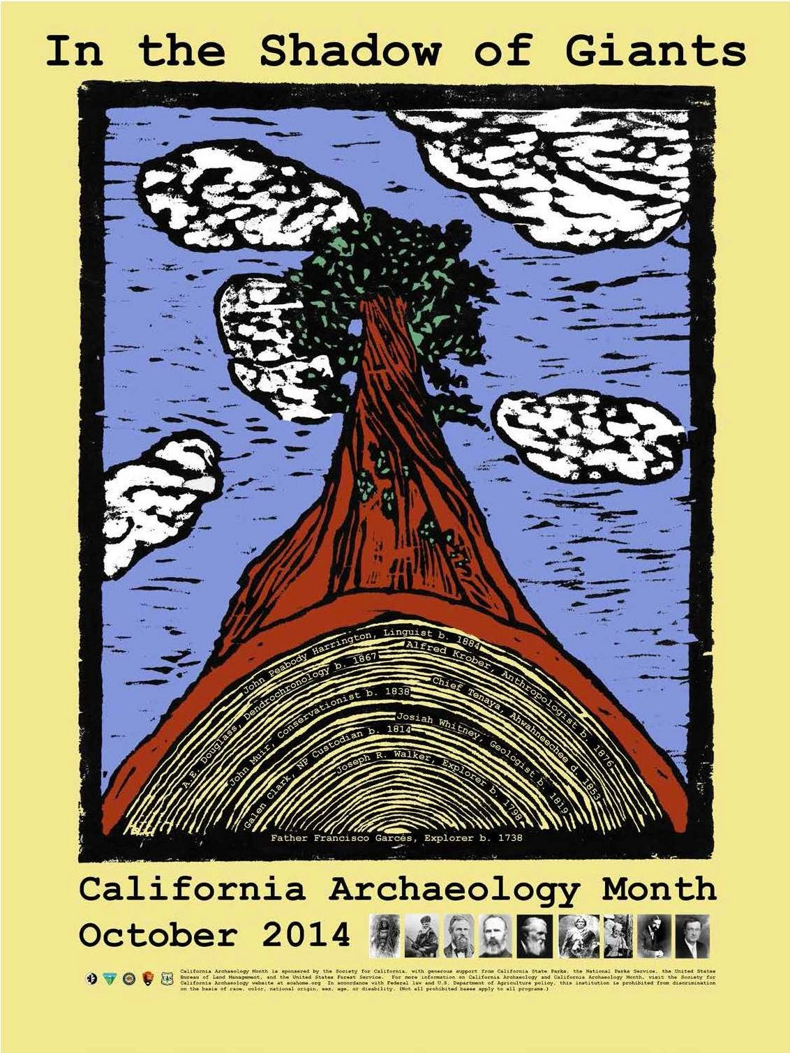 California Archaeology Month poster