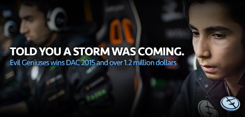 Sumail Hassan, won $1.2 million in Dota 2 Asia Championships