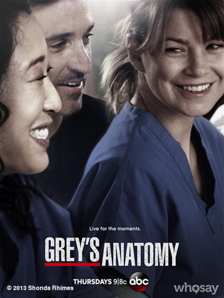 Grey's Anatomy 10x11 - Man on the Moon