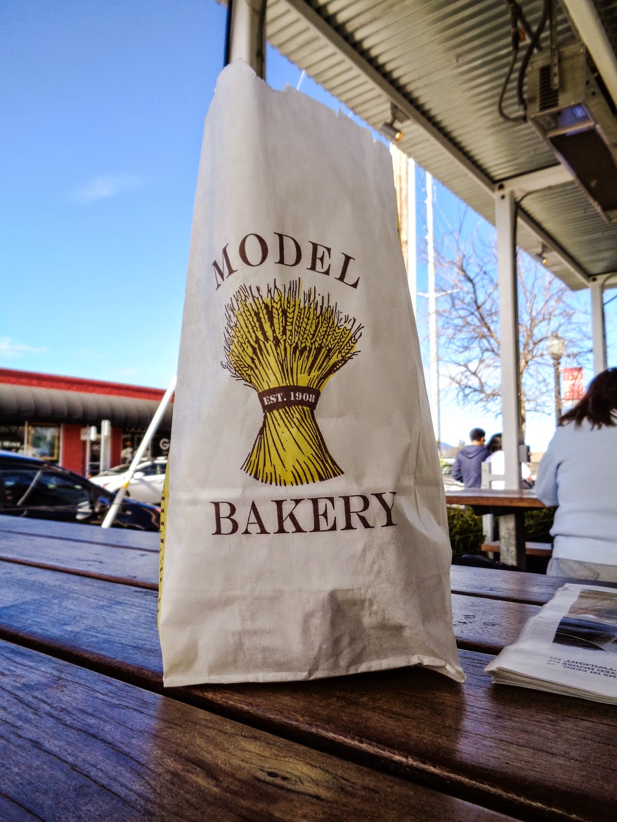 Model Bakery in Napa, Parrish The Thought