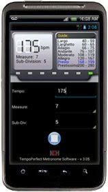 TempoPerfect Metronome - First NCH Software Android App